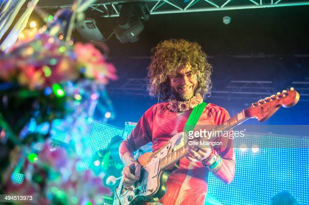 Wayne Coyne of The Flaming Lips performs onstage at Rock City on May 29 2014 in Nottingham England