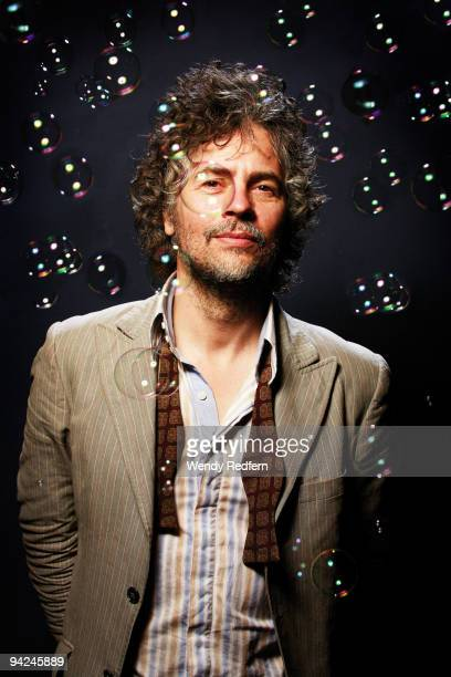 Wayne Coyne of The Flaming Lips poses for a portrait session on August 21 2009 in Los Angeles California