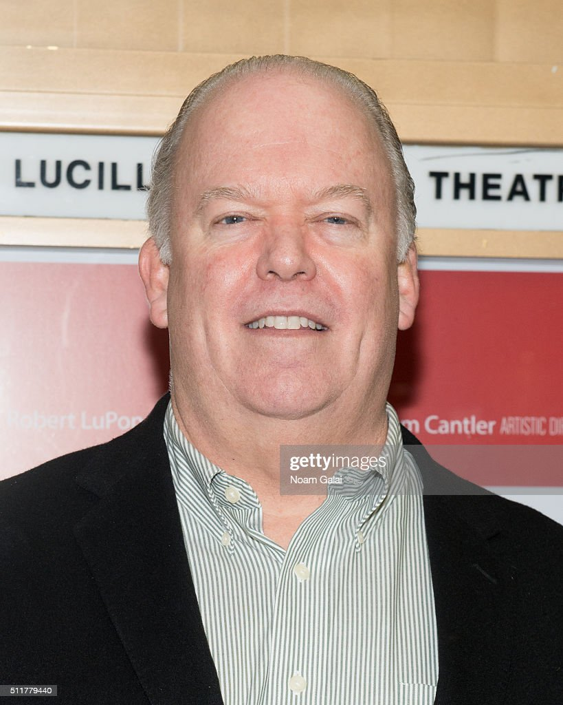 Wayne Duvall attends 'Smokefall' opening night at Lucille Lortel Theatre on February 22 2016 in New York City