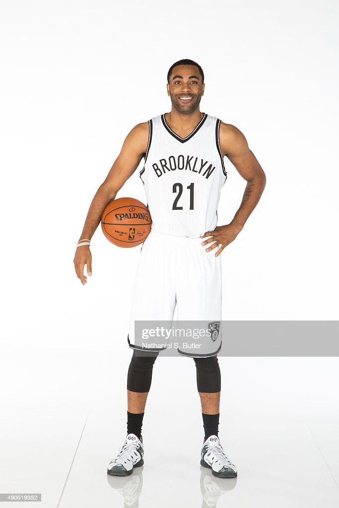 Wayne Ellington of the Brooklyn Nets poses for a photo during Media Day at the Brooklyn Nets Practice Facility NOTE TO USER User expressly...