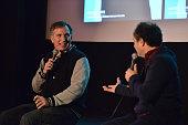 Wayne Federman and Kevin Pollak attend the 4th Annual Wayne Federman International Film Festival at Cinefamily on March 6 2015 in Los Angeles...