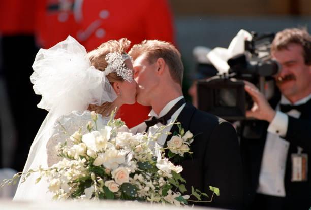Wedding Of Wayne Gretzky And Janet Jones