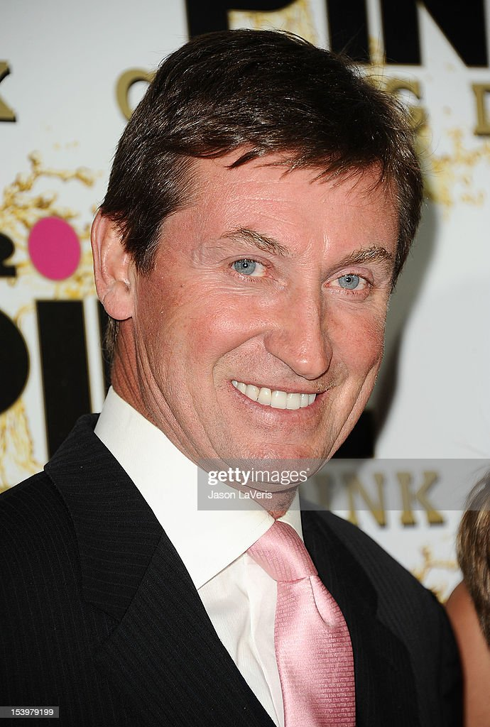 Wayne Gretzky attends the Mr. Pink Ginseng Drink launch party at Regent Beverly Wilshire Hotel on October 11, 2012 in Beverly Hills, California.
