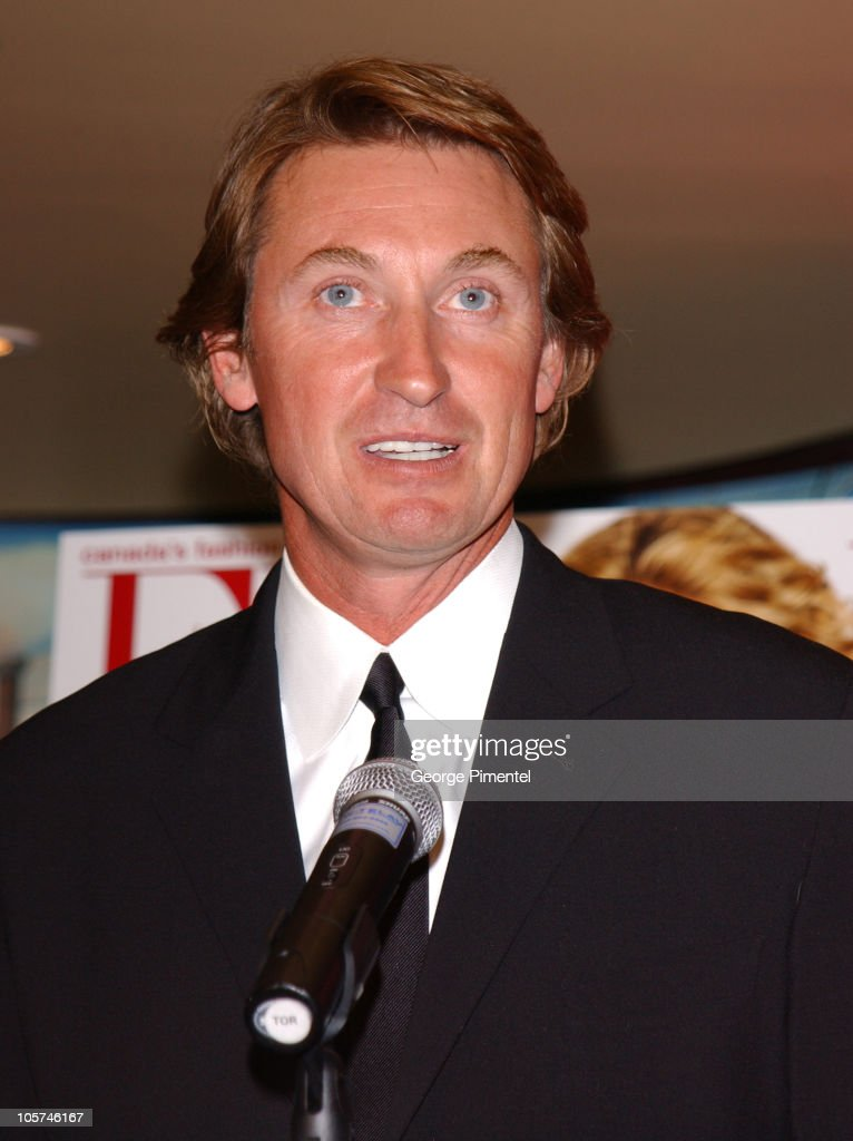 Wayne Gretzky during Paulina and Wayne Gretzky at Flare Magazine Release Party at Wayne Gretzky's in Toronto, Ontario, Canada.