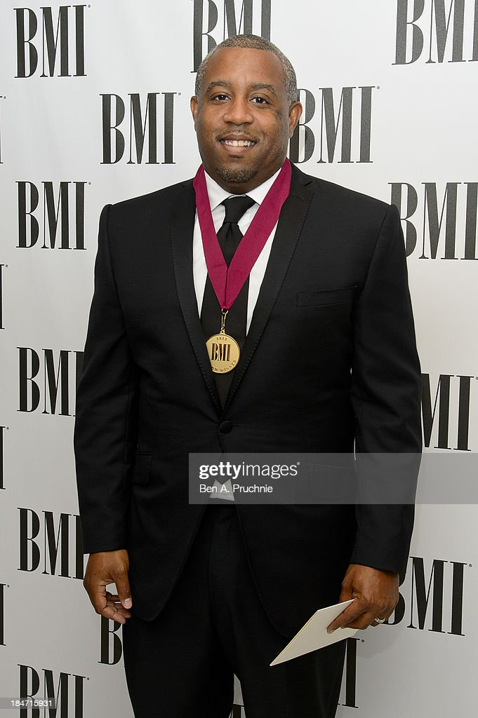 Wayne Hector attends the BMI Awards at The Dorchester on October 15, 2013 in London, England.