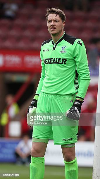 Wayne Hennessey of Crystal Palace in action during the Pre Season Friendly match between Brentford and Crystal Palace at Griffin Park on August 2...