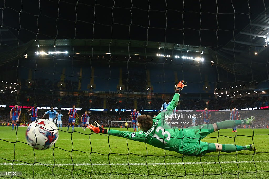 Manchester City v Crystal Palace - Capital One Cup Fourth Round