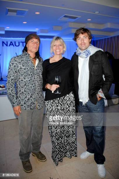Wayne Johnson Mary Cancassi and Bryan Neal attend GQ World Oceans Day Party at Sunset Tower Hotel on June 8 2010 in West Hollywood California
