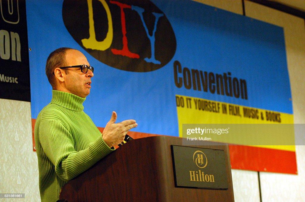CMJ Music Marathon 2003, Day 3 - Wayne Kramer Gives Keynote Speech