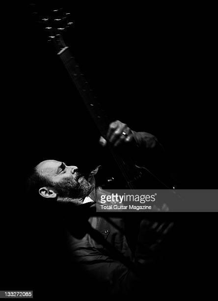Wayne Kramer performs live on stage at the Breaking Rocks Film Premiere on October 1 2009 in London