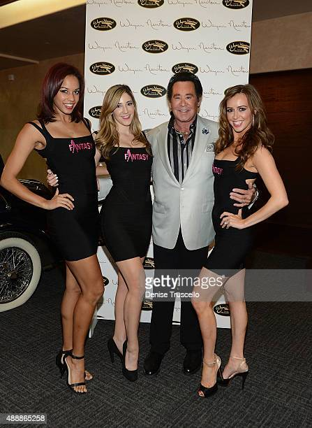 Wayne Newton and the cast of Fantacy attend the VIP opening of Casa De Shenandoah on September 17 2015 in Las Vegas Nevada
