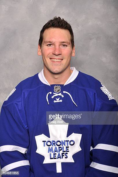 Wayne Primeau of the Toronto Maple Leafs poses for his official headshot for the 20102011 season at the Mastercard Centre for Hockey Excellence...