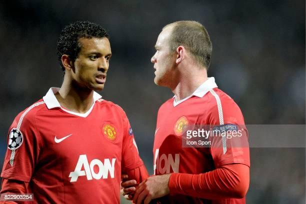 NANI / Wayne ROONEY Marseille / Manchester United 1/8 finale Champions League 2010/2011 Marseille