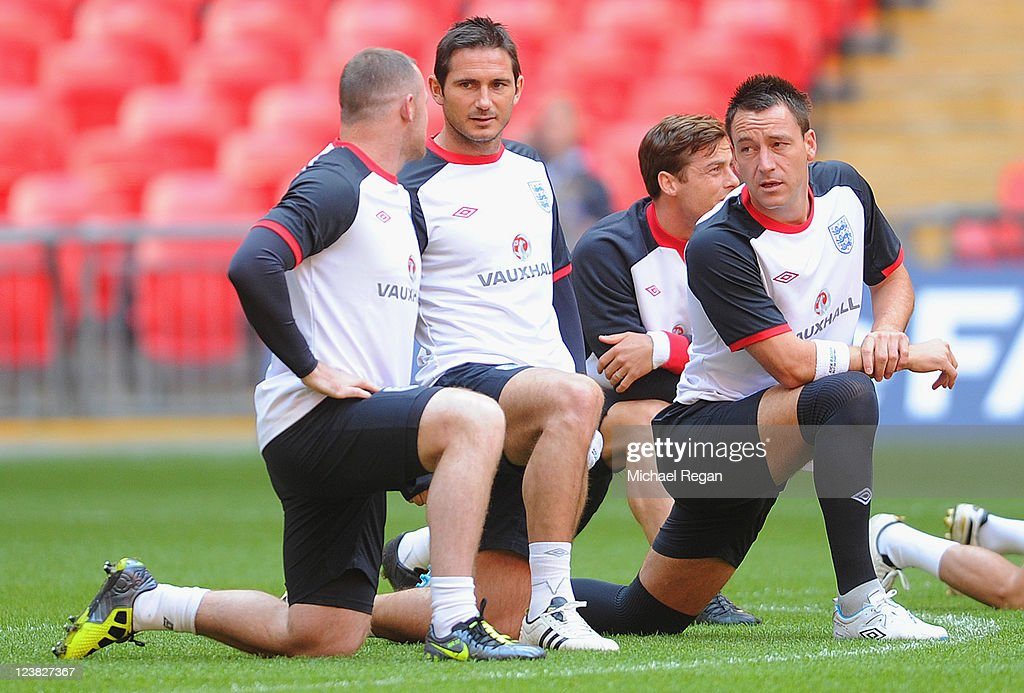 England Training And Press Conference | Getty Images
