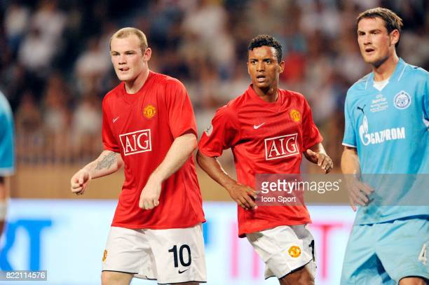 Wayne ROONEY / NANI Manchester United / Zenith Saint Petersbourg SuperCoupe d Europe Monaco