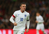 Wayne Rooney of England during the international friendly between England and France at Wembley Stadium on November 17 2015 in London England