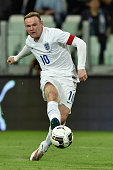 Wayne Rooney of England in action during the international friendly match between Italy and England on March 31 2015 in Turin Italy