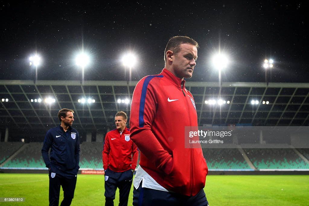 England Press Conference : News Photo