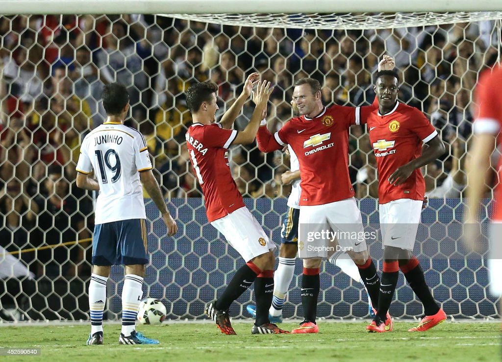 Manchester United v Los Angeles Galaxy
