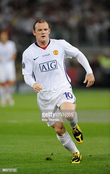Wayne Rooney of Manchester United during the UEFA Champions League Final match between Barcelona and Manchester United at the Stadio Olimpico on May...