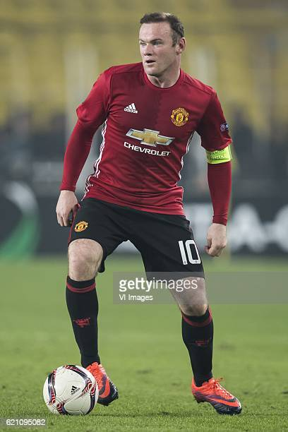 Wayne Rooney of Manchester United FCuring the UEFA Europa Leaguegroup A match between Fenerbahce and Manchester United on November 3 2016 at the...