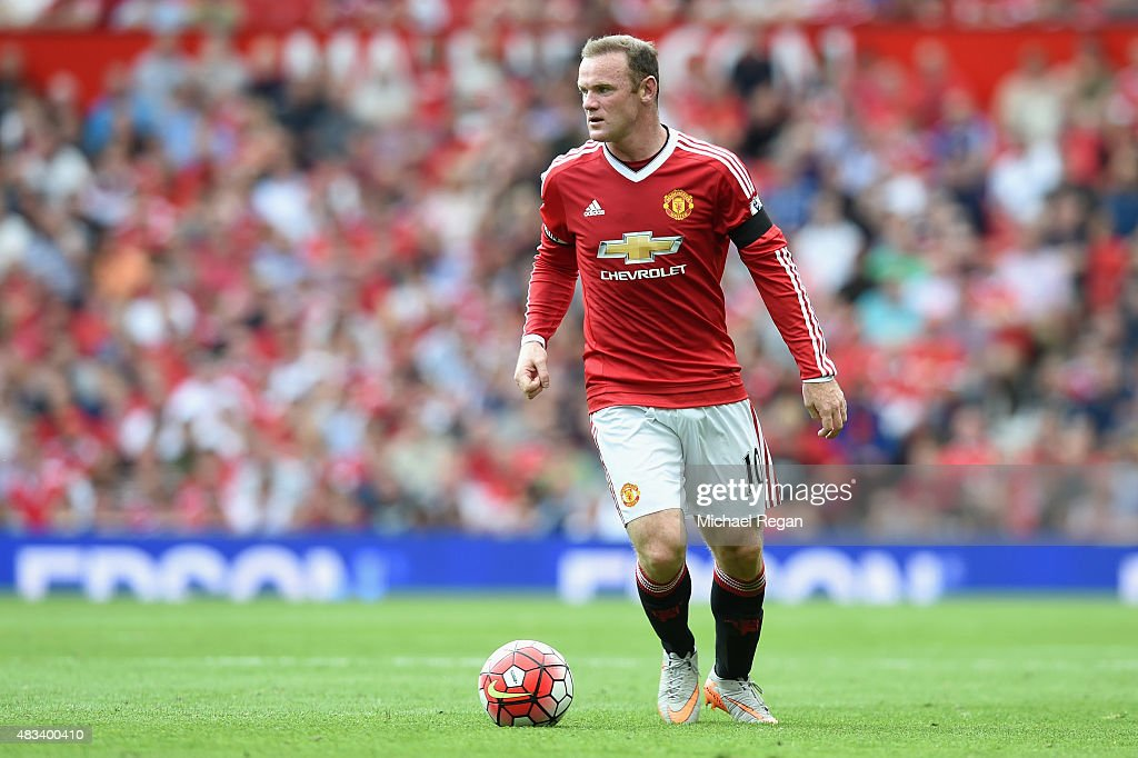<a gi-track='captionPersonalityLinkClicked' href=/galleries/search?phrase=Wayne+Rooney&family=editorial&specificpeople=157598 ng-click='$event.stopPropagation()'>Wayne Rooney</a> of Manchester United in action during the Barclays Premier League match between Manchester United and and Tottingham Hotspur at Old Trafford, Manchester.