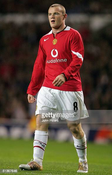 Wayne Rooney of Manchester United in action during the UEFA Champions League match between Manchester United and Fenerbahce at Old Trafford on...