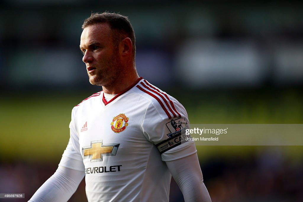 Wayne Rooney of Manchester United looks on during the Barclays Premier League match between Crystal Palace and Manchester United at Selhurst Park on October 31, 2015 in London, England.