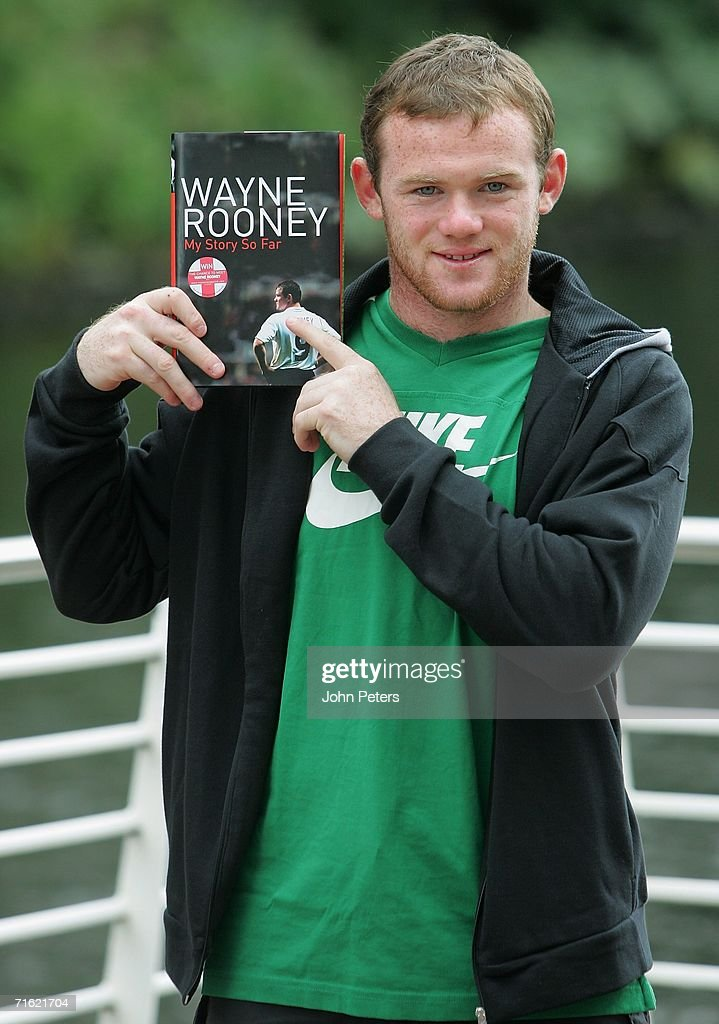 Wayne Rooney Launches Biography In Manchester Photos and Images ...