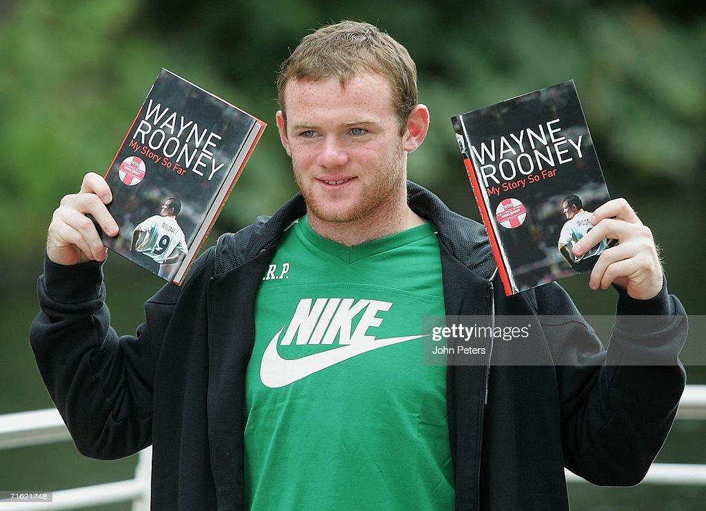 Manchester United striker Wayne Rooney'-s testimonial against ...