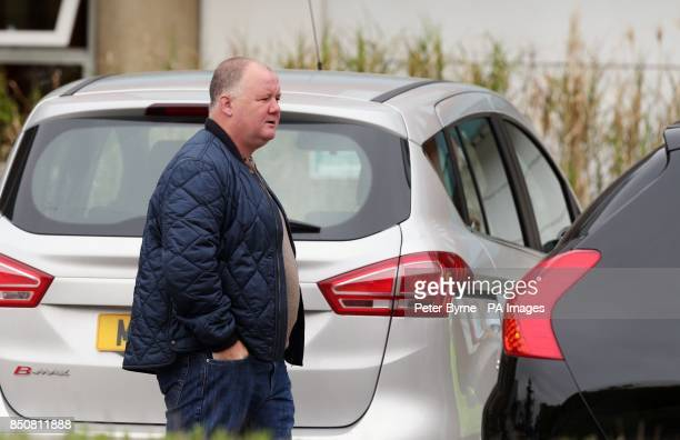 Wayne Rooney's father also called Wayne leaves Liverpool Women's Hospital after visiting Coleen Rooney who gave birth to Klay Anthony Rooney at 211am