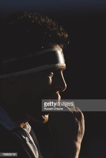 Wayne Shelford captain of the New Zealand All Blacks during the match against Newport RFC on 31 October 1989 at the Rodney Parade Stadium Newport...