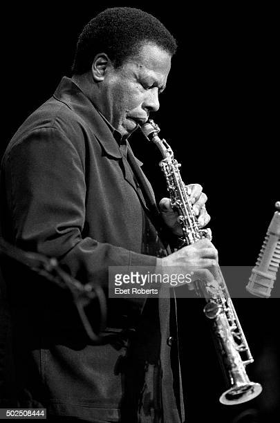 Wayne Shorter performing at Jazz Alliance's 'Made In America' concert at Town Hall in New York City on December 5 2001