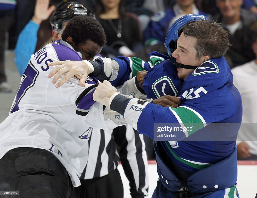 Los Angeles Kings v Vancouver Canucks - Game Five