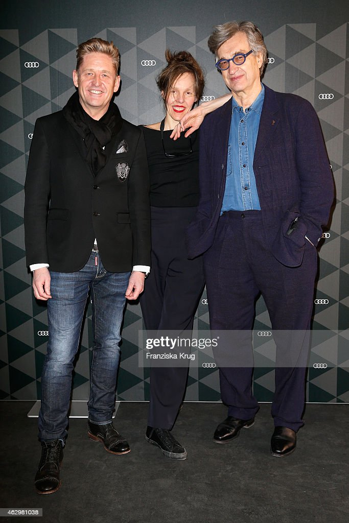 WayneAnthony Griffiths Head of Sales AUDI Germany Wim Wenders and his wife Donata Wenders attend the AUDI Berlinale Brunch during the 65th Berlinale...