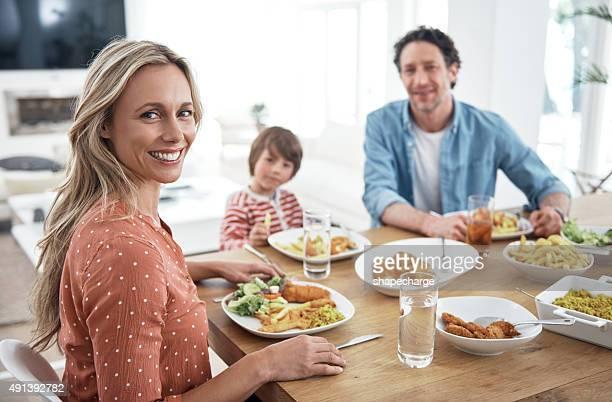 Abbiamo sempre cena in famiglia