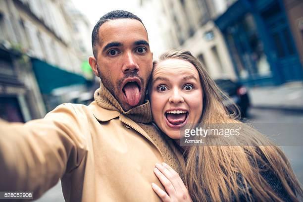 Nous avons toujours amusant selfies ensemble