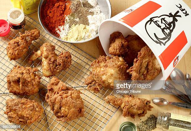 We didn't taste much of a difference between Kentucky Fried Chicken right and the fried chicken left on wire rack we made in our test kitchen using a...