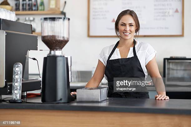 Nous faisons cela pour l'amour de café