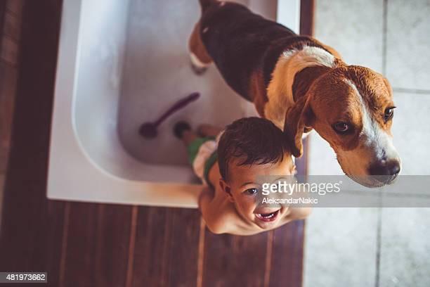 We don't want a bath!