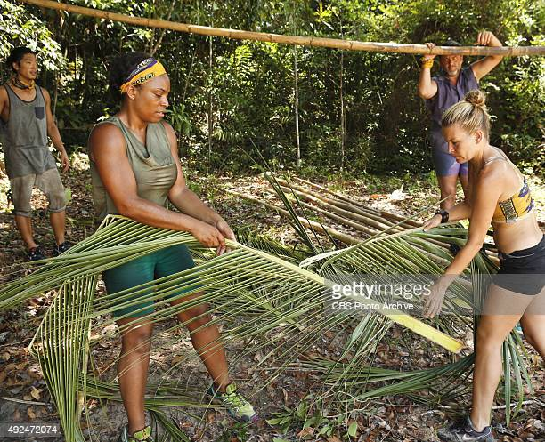 'We Got A Rat' Woo Hwang Tasha Fox Jeff Varner and AbiMaria Gomes during the third episode of SURVIVOR Wednesday Oct 7 The new season in Cambodia...