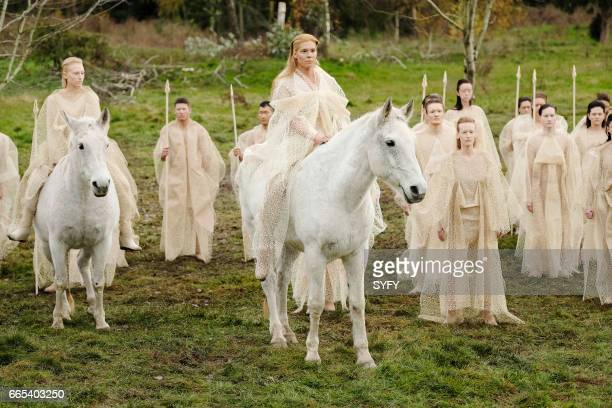 THE MAGICIANS 'We Have Brought You Little Cakes' Episode 213 Pictured Candis Cayne as The Fairy Queen