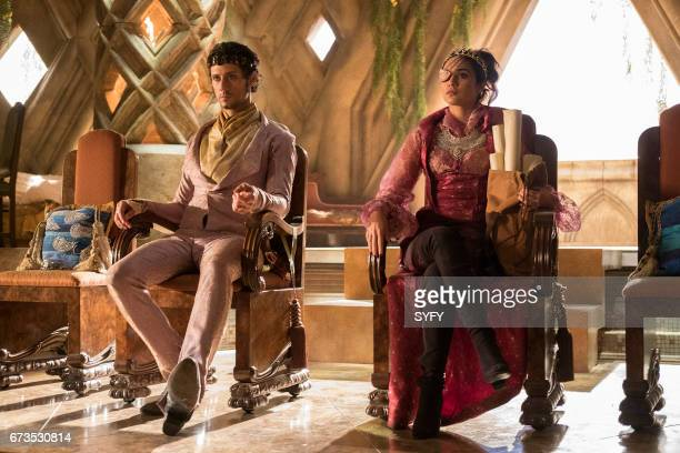 THE MAGICIANS 'We Have Brought You Little Cakes' Episode 213 Pictured Hale Appleman as Eliot Summer Bishil as Margo