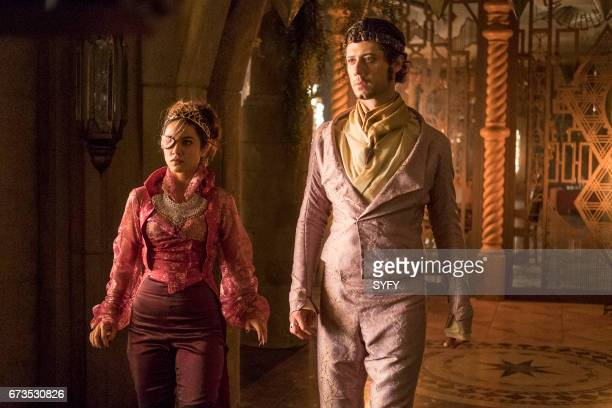 THE MAGICIANS 'We Have Brought You Little Cakes' Episode 213 Pictured Summer Bishil as Margo Hale Appleman as Eliot