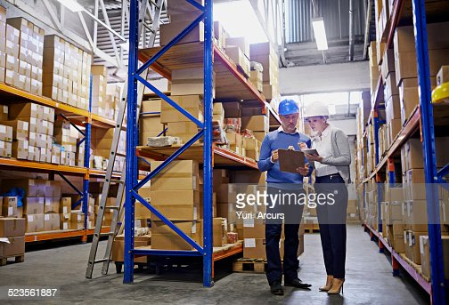 We know where every order is in this warehouse