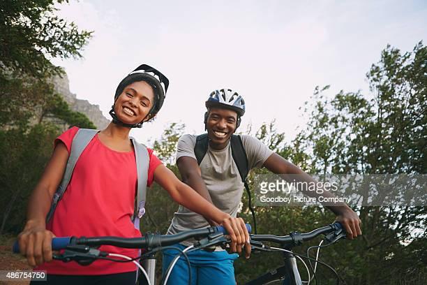 Wir lieben Radfahren zusammen!
