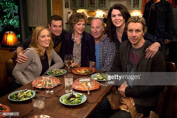 PARENTHOOD 'We Made It Through The Night' Episode 612 Pictured Erika Christensen as Julia BravermanGraham Peter Krause as Adam Braverman Bonnie...