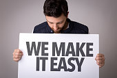 We Make It Easy sign
