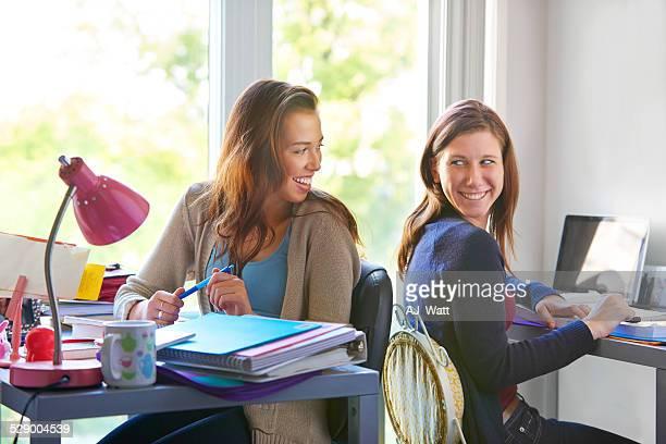 We should always study together