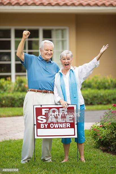 We sold the house